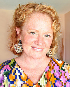 062113 - DELRAY - Veronica Bower, Color Consultant at Regal Paint Benjamin Moore. Photo by Tim Stepien