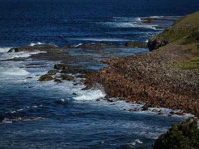 Seaside Rock Shelf w