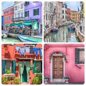 Burano and Murano, Italy