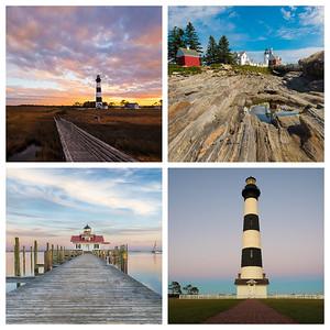 Lighthouses of the East Coast