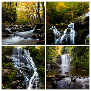 Waterfalls of the Blue Ridge 1