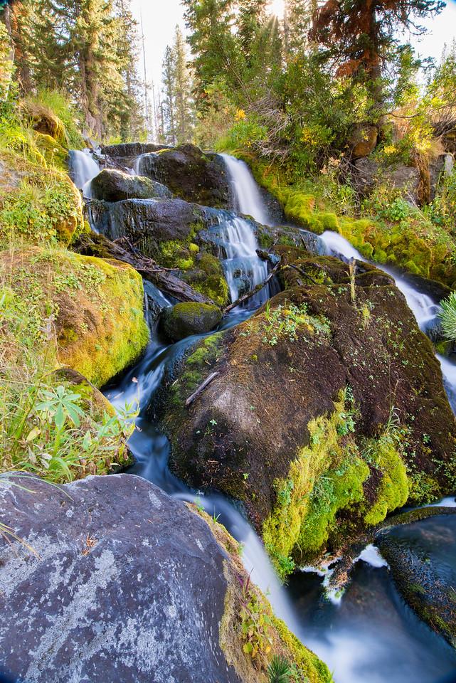 Mount Lassen Waterfall