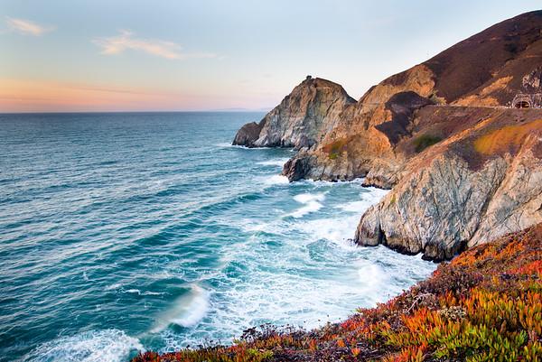 Devil's Slide, California Coast