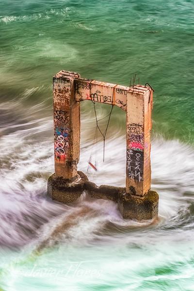 Davenport Abandoned Concrete Pier