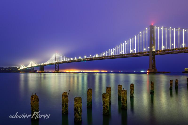 San Francisco Bay Bridge Sunrise
