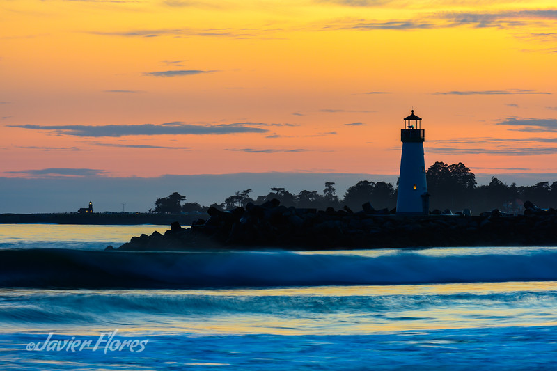 Santa Cruz Harbor Walton Lighthouse