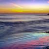 Sunset at Natural Bridges in Santa Cruz California