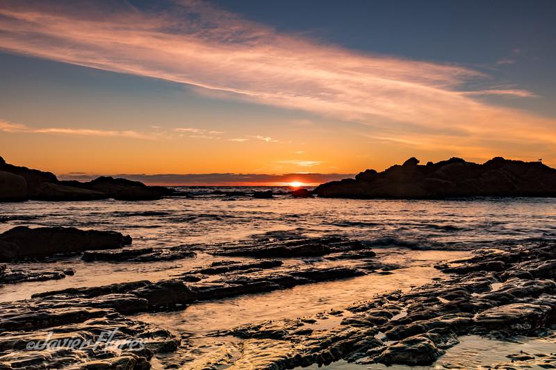 Weston Beach Point Lobos Sunset