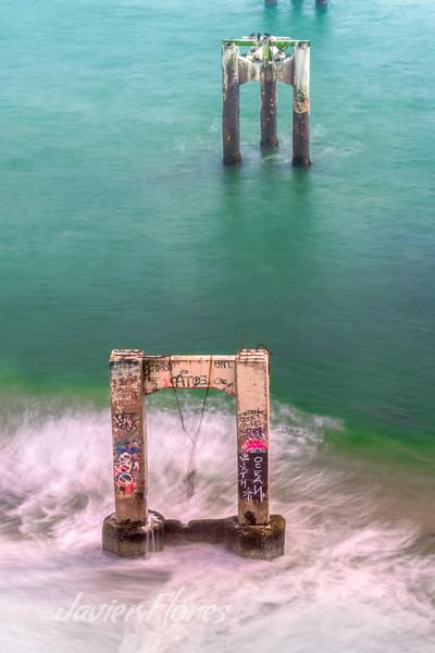 Davenport Beach Pier