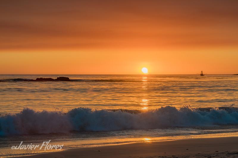 Sunset at Carmel