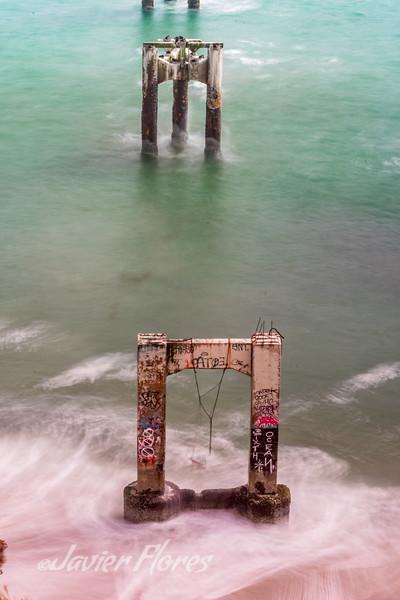 Davenport Beach Old Pier