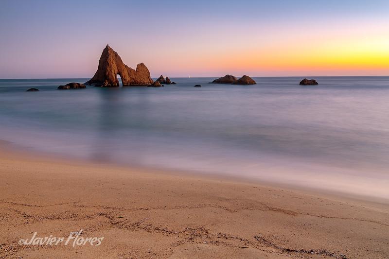 Martins Beach Sunset