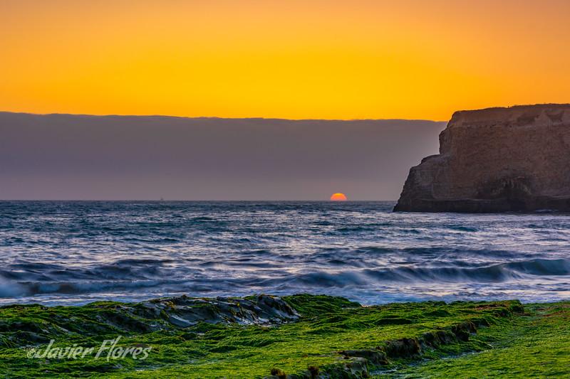 Davenport Beach sunset