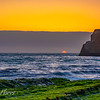 Davenport Beach sunset