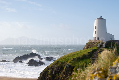 Lighthouse on Llanwyn Island