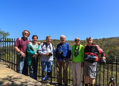 Group photo - Cloudland Canyon