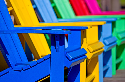 Mark Chandler - Colorful Chairs