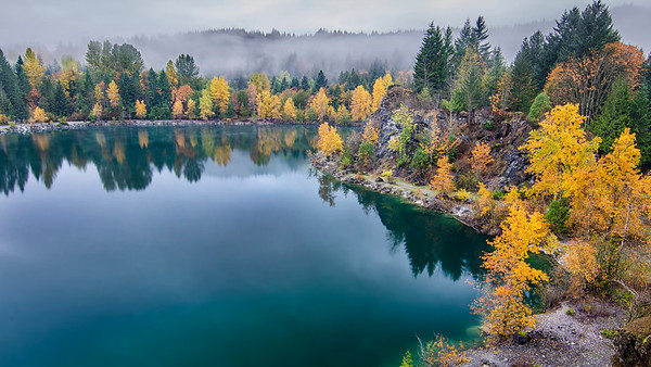 Autumn colours at the Quarry