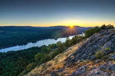 Baldy Mountain sunset