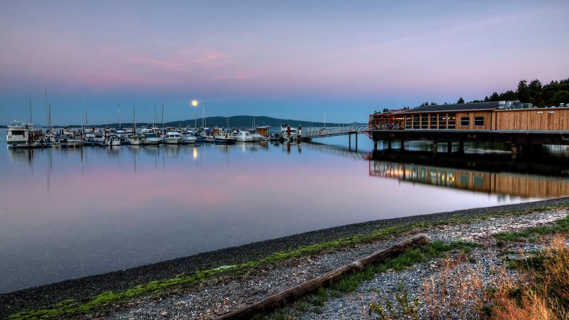 Moonrise, Mill Bay Marina