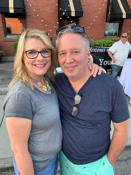 Pam and Johnny Descoteaux of Lowell