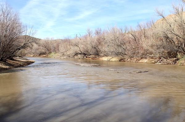 Along the Gila River at Cochran (2018)