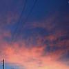 Big Hill Road Sunrise, Alberta