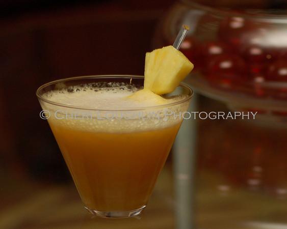 Glitter Island - cocktail creation & photography by Cheri Loughlin for representatives of Hiram Walker