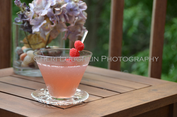 Barefoot Raspberry Lemonade - cocktail creation & photography by Cheri Loughlin