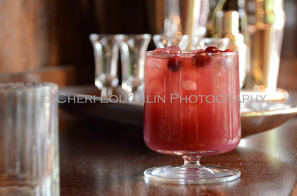 Barefoot Ruby Reindeer / Red Ruby - cocktail creation & photography by Cheri Loughlin