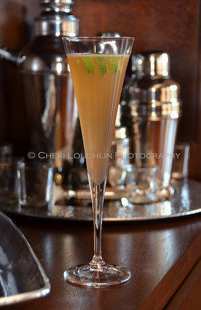 Spiced Celebration Sparkler - cocktail creation & photography by Cheri Loughlin for representatives of Camarena Tequila