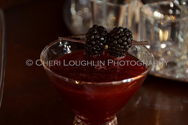 Berried Treasure - cocktail creation & photography by Cheri Loughlin for representatives of Camarena Tequila
