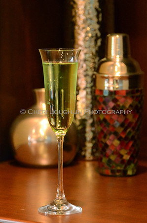 Barefoot Emerald Orchard / Barefoot Go Green - cocktail creation and photography by Cheri Loughlin