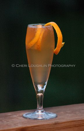 Seelbach Cocktail - photo featured in Men's Health Magazine, May 2010 edition