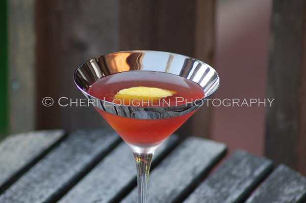 Viennese Vixen - cocktail creation & photography by Cheri Loughlin for representatives of OVAL Vodka
