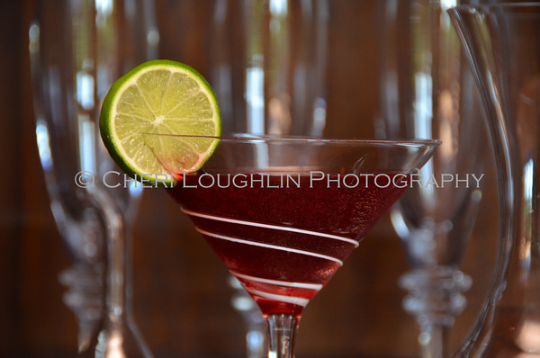 Barefoot Black Cherry Daiquiri - cocktail creation & photography by Cheri Loughlin