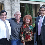 Fernando Davila, Gary and Etta Rae Hirsch and Chairman of the Board of Directors Mac Barr.
