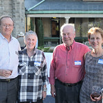 Cave Hill Heritage Foundation Board member Bruce Dudley, Mari and Jim Coorssen and Joan Dudley.