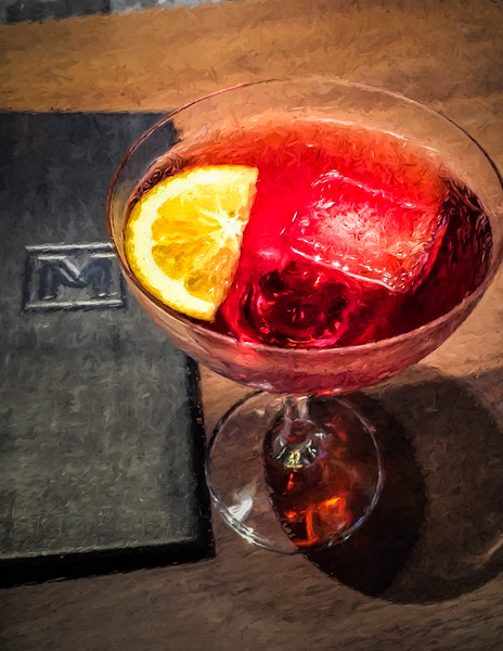 12-16-15 Negroni at Michael Minna