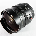 """<b>Canon EF 15mm f/2.8 Fisheye</b> <div class=""""gsFont""""> Although I could be happy mounting this lens on my camera and using it exclusively for an entire week, such merriment would be """"self indulgent."""" For the majority of people, the fisheye effect (like its namesake and relatives), begins to smell funny rather quickly. Consequently, I use it somewhat sparingly -- though still press it into """"non standard"""" service (such as portraits) whenever possible. Also, with a little post-processing, it'll de-fish nicely into an ultra-wide angle alternative. This is one sharp tube of glass. Its only fault (and it's minor) is the """"friction fit"""" lens cap that, more often than not, detaches itself from the hood, leaving the bulbous front element exposed. Though still perfectly unmarred, I live with a certain modicum of fear whenever I take this lens into the field. <br><div class=""""gsGray""""><em>Rating: 9 out of 10</em>    Sample Image: <a href=""""http://photos.ultrasomething.com/gallery/2796571_J5AyM#214645933_5bV7q-A-LB"""" target=""""_blank"""">A</a>   <a href=""""http://photos.ultrasomething.com/gallery/2796571_J5AyM#174670852_tac3y-A-LB"""" target=""""_blank"""">B</a>   <a href=""""http://photos.ultrasomething.com/gallery/3738326_umN7f#149216780_EUFQQ-A-LB"""" target=""""_blank"""">C</a></div> </div>"""