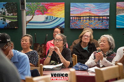 Venice Japanese American Memorial Marker Fundraiser at Hama Sushi.  www.venicejamm.org.  Photo by www.VenicePaparazzi.com