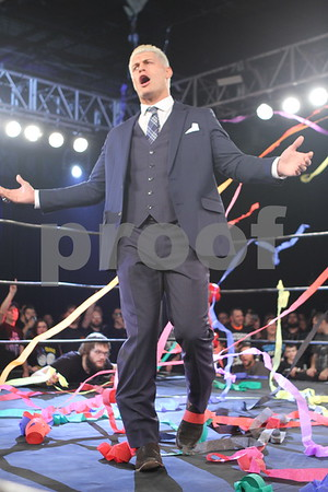 Cody Rhodes Ring of Honor photos