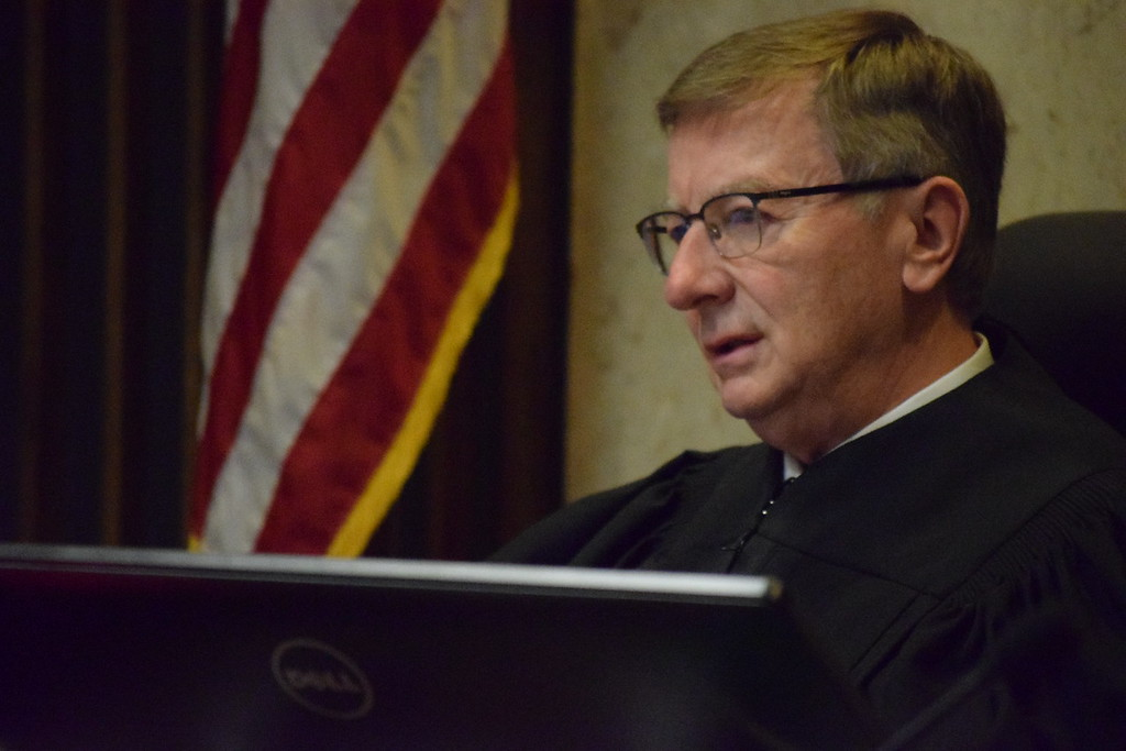 . Judge Carl Marlinga.  Photo by Jameson Cook / Macomb Daily.