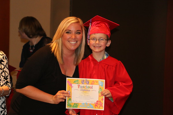 Codys Pre-K Graduation - May 2015