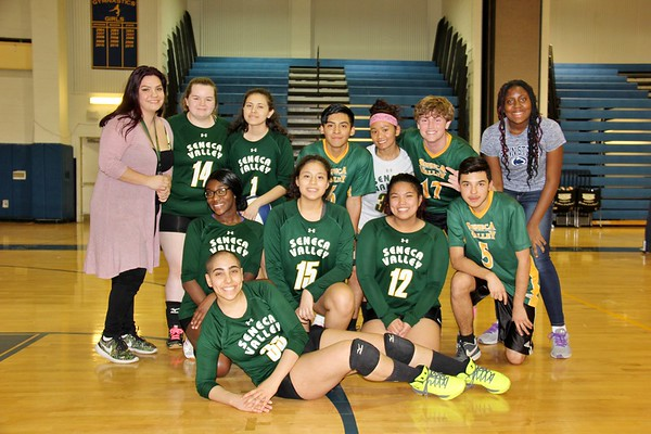 Coed Volleyball vs. BCC HS   4-6-2018