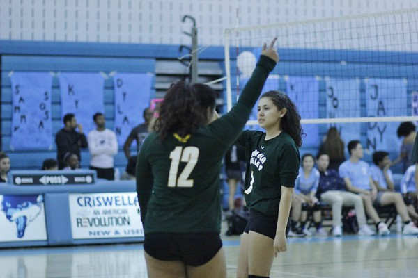 Coed Volleyball vs. Clarksburg HS 4-23-2018