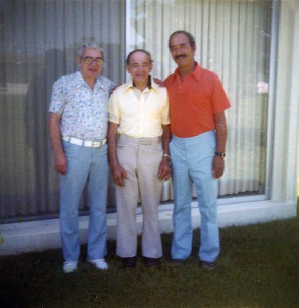Jack, Sid and Melvin Gardiner