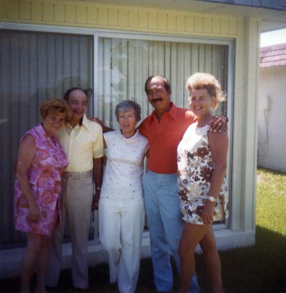 Ann & Sid Gardiner, Irma, Mel & Dorothy Gardiner