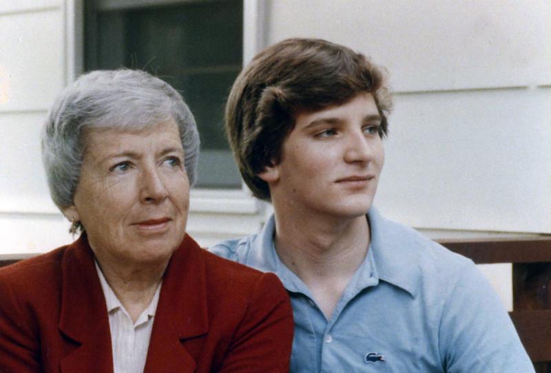 Irma Gardiner & Grandson Lee Busch