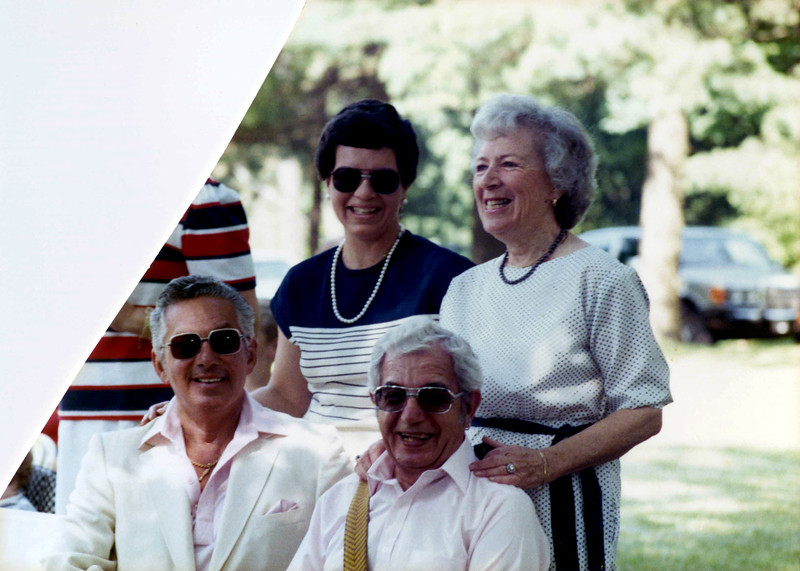 Holly, Irma & Jack Gardiner & Jerry Cohen